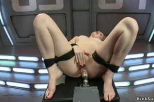 1009510 Tied Solo Blonde Is Machine Banged