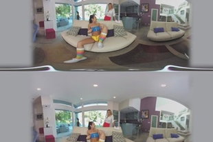 VR 360 · LILY ADAMS & ALEXIS FAWX SHARE A MASSAGE AND A