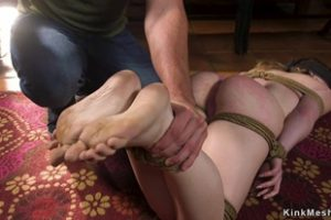 1066724 Husband Fingers Asshole To Bound Wife