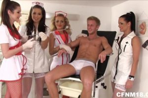 1094964 4 Nurses Jerking Cock