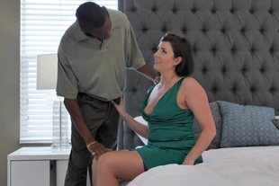 Helena Price · Hairy White MILF Is In Need For A Big Throbbing Black Cock
