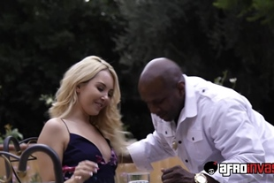 AfroInvasion · Aaliyah Love Gets Fucked Interracially O