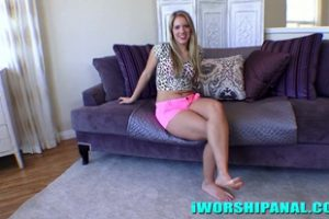 1110473 Candice Dare I Worship Anal