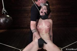 1114628 Bound Slave Tortured With Wet Cloth