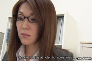 1115063 New Office Lady Mao Saitou Sc1