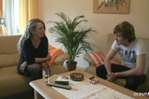 1153302 German Stepmom Teach Young Virgin Guy How To Fuck When