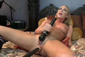 1162407 Blonde Fucks Machine And Sybian
