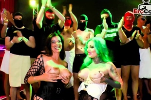 german cum sexparty with huge creampie loads