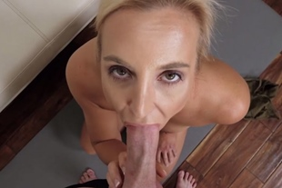 My busty MILF stepmother asks me to plow her pussy