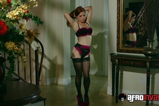 Afroinvasion · Penny Pax · Redheaded Penny Pax Vs Black
