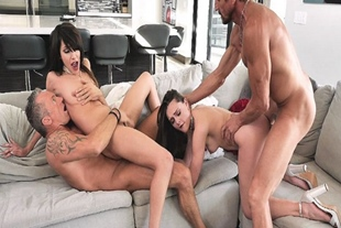 Teens swapping their dads and fucks them