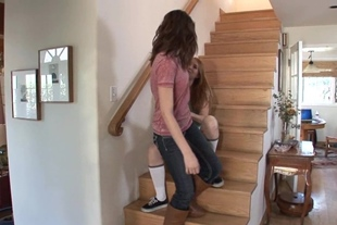 Littlemutt-ALLIE ROSE AND AMI EMERSON · STAIRS