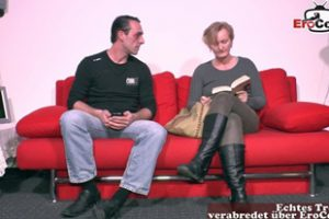 1246402 German Old Mature Housewife Seduced Younger Guy