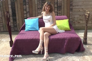 La France A Poil · Casting Couch Of A Pretty Skinny Str