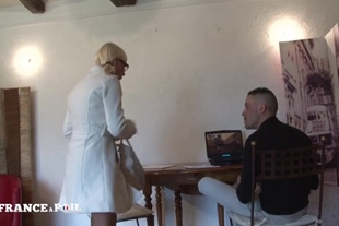 La France A Poil · Pretty Student Blonde Came Back From