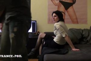 1253750 La France A Poil Pretty Young Brunette Fucked Hard An