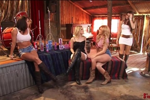 Alexis Texas And Brooklyn Lee Entertain Chanel Preston And Madelyn Marie in HD