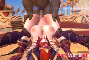 3D Horny Characters from Video Games Rough Fuck in Every Hole