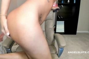 Horny Little Tits Amateur Model Spreads Her Tight Pussy For Her Hitachi