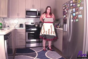 Pure-BBW · Busty Housewife Gets Fucked In Her Kitchen