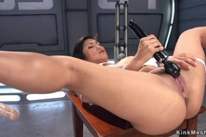 594328 Huge Tits Asian Lady Anal Fucks Machine