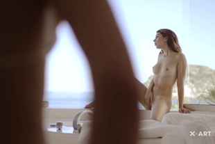 X-Art · Threesome With A View (Joseline, Leah)