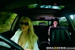 632939 Teens In The Backseat Scene Starring Angel Wicky Jimena