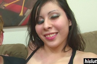 Gorgeous girl craves for a dick