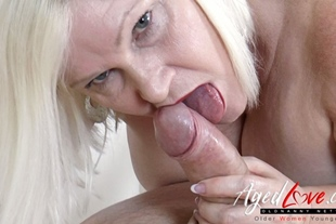 AgedLovE Lacey Starr Fucking Hard with Soldier