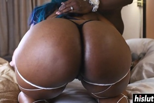 Black dick can please two girls