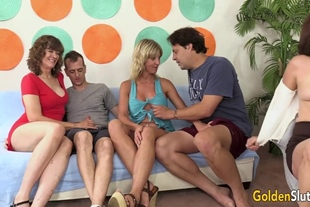 Babe Morgan, Leah L'Amour, Michele Marks, Skyler Haven