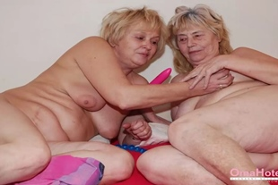 OmaHoteL Got Some Toys for Horny Older Grannies