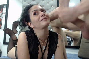 Brunette Whore Goes Wild And Horny On Cam