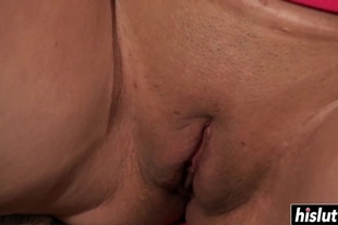 There's nothing better for Cali Rider than drooling on a fat shaft