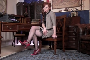 VintageFlash · Vivi St Claire · Whilst the boss is away