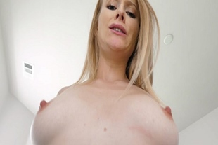 Paris White busts down on stepbros cock