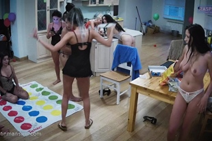 Drunk Nude Teen Girls Party In The Kitchen