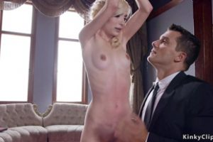 756451 Butler Bangs Skinny Teen And Step Mom