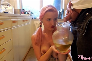 PervyPixie · Panties And A Pitcher