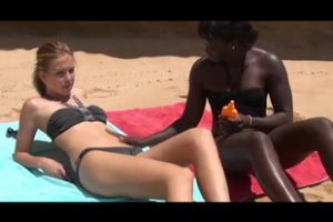 769772 Threesome Sex At The Beach