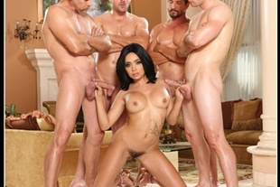 aaliyah hadid- white out gangbang devil's films