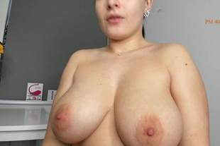 Big Boobs Brunette Is Pleasured In A Solo Homemade Act