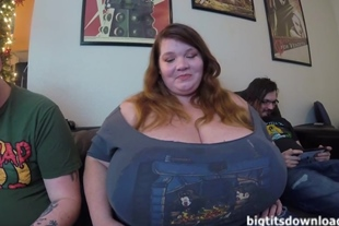 For sure the biggest tits ever