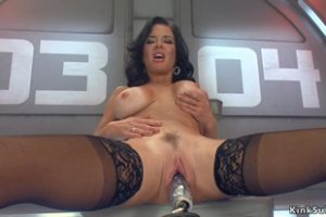 848611 Busty Milf Takes Double Penetration Machine