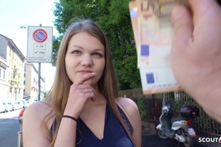 GERMAN SCOUT · FIRST ANAL FOR COLLEGE TEEN AMANDA AT